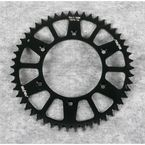 50 Tooth Black Anodized Rear Works Triplestar Aluminum Sprocket - 5-354750BK