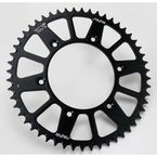 52 Tooth Black Anodized Rear Works Triplestar Aluminum Sprocket - 5-354752BK