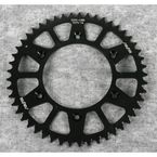 49 Tooth Black Anodized Rear Works Triplestar Aluminum Sprocket - 5-355949BK