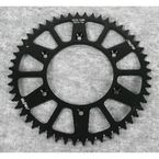 52 Tooth Black Anodized Rear Works Triplestar Aluminum Sprocket - 5-355952BK