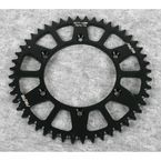 52 Tooth Black Anodized Rear Works Triplestar Aluminum Sprocket - 5-357752BK
