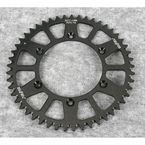 49 Tooth Black Anodized Rear Works Triplestar Aluminum Sprocket - 5-357749BK