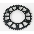49 Tooth Black Anodized Rear Works Triplestar Aluminum Sprocket - 5-359249BK