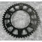 49 Tooth Black Anodized Rear Works Triplestar Aluminum Sprocket - 5-361949BK