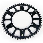 52 Tooth Black Anodized Rear Works Triplestar Aluminum Sprocket - 5-361952BK