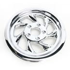 Chrome 65-Tooth Drifter Rear Pulley - 1 1/8 in. - HD106504-101C