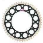 50 Tooth Black TwinRing Heavy-Duty Sprocket - 1120-520-50GPBK
