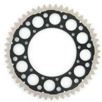 51 Tooth Black TwinRing Heavy-Duty Sprocket - 1120-520-51GPBK