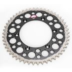 50 Tooth Black TwinRing Heavy-Duty Sprocket - 1230-520-50GPBK