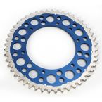 Blue Rear Twin Ring Sprocket - 1500-520-48GPBU