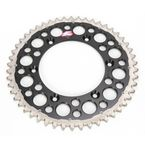50 Tooth Black TwinRing Heavy-Duty Sprocket - 1500-520-50GPBK