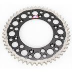 48 Tooth Black TwinRing Heavy-Duty Sprocket - 1540-520-48GPBK