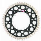 50 Tooth Black TwinRing Heavy-Duty Sprocket - 1540-520-50GPBK