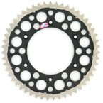 51 Tooth Black TwinRing Heavy-Duty Sprocket - 1540-520-51GPBK