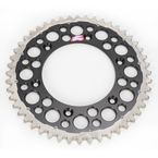 48 Tooth Black TwinRing Heavy-Duty Sprocket - 2240-520-48GPBK