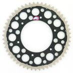 52 Tooth Black TwinRing Heavy-Duty Sprocket - 2240-520-52GPBK