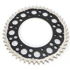 Black Rear Twin Ring 48 Tooth Sprocket - 1500-520-48GPBK