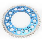 49 Tooth Blue TwinRing Heavy-Duty Sprocket - 1500-520-49GPBU