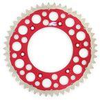 50 Tooth Red TwinRing Heavy-Duty Sprocket - 1540-520-50GPRD