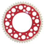 51 Tooth Red TwinRing Heavy-Duty Sprocket - 1540-520-51GPRD
