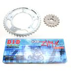 ZVMX X-Ring Chain and Sprocket Kit - DKS-018G
