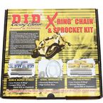Steel 520VX2 Chain and Sprocket Kit - DKY-011
