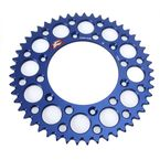 Blue Anodized Rear Sprocket  - 224U-520-49GPBU
