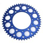 Blue Anodized Rear Sprocket  - 224U-520-51GPBU
