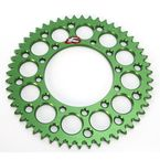 Green Kawasaki 51 tooth Aluminum Sprocket - 191U-420-51GEGN