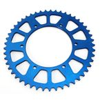 Blue Works Aluminum  Rear Sprocket - 5-359248BL
