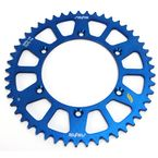 Blue Works Aluminum  Rear Sprocket - 5-359249BL