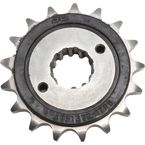 Front Rubber 17 Tooth Cushioned Sprocket - JTF1372.17RB