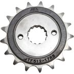 Front Rubber Cushioned Sprocket - JTF512.17RB