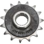 Front Rubber 15 Tooth Cushioned Sprocket - JTF577.15RB