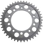 Induction Hardened Black Zinc Finished 520 43 Tooth Rear Sprocket - JTR1303.43ZB