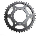 Induction Hardened Black Zinc Finished 39 Tooth Rear Sprocket - JTR1489.39ZB