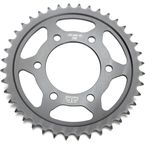 Induction Hardened Black Zinc Finished 525 40 Tooth Rear Sprocket - JTR1489.40ZB