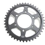 Induction Hardened Black Zinc Finished 42 Tooth Rear Sprocket - JTR1489.42ZB