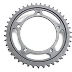 Induction Hardened Black Zinc Finished 525 43 Tooth Rear Sprocket - JTR1792.43ZB