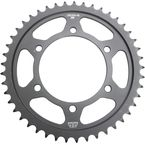 Induction Hardened Black Zinc Finished 45 Tooth Rear Sprocket - JTR1876.45ZB
