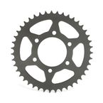 Induction Hardened Black Zinc Finished 520 43 Tooth Rear Sprocket - JTR478.43ZBK