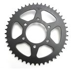 Induction Hardened Black Zinc Finished 520 46 Tooth Rear Sprocket - JTR478.46ZBK