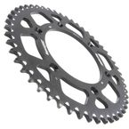 Black Aluminum Rear Sprocket - RAL-210-51-BK