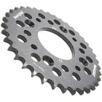 Black Aluminum Rear Sprocket - RAL-214-37-BK