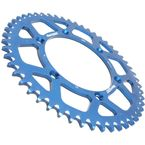 Blue Aluminum Rear Sprocket - RAL-245-51-BLU