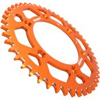 Orange Aluminum Rear Sprocket - RAL-990-48-ORG