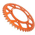 Orange Aluminum Rear Sprocket - RAL-990-49-ORG