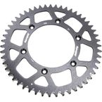 Black Aluminum Rear Sprocket - RAL-990-52-ORG