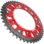 Red Stealth Rear Sprocket - RST-1512-48-RED