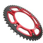 Red Stealth Rear Sprocket - RST-1512-49-RED